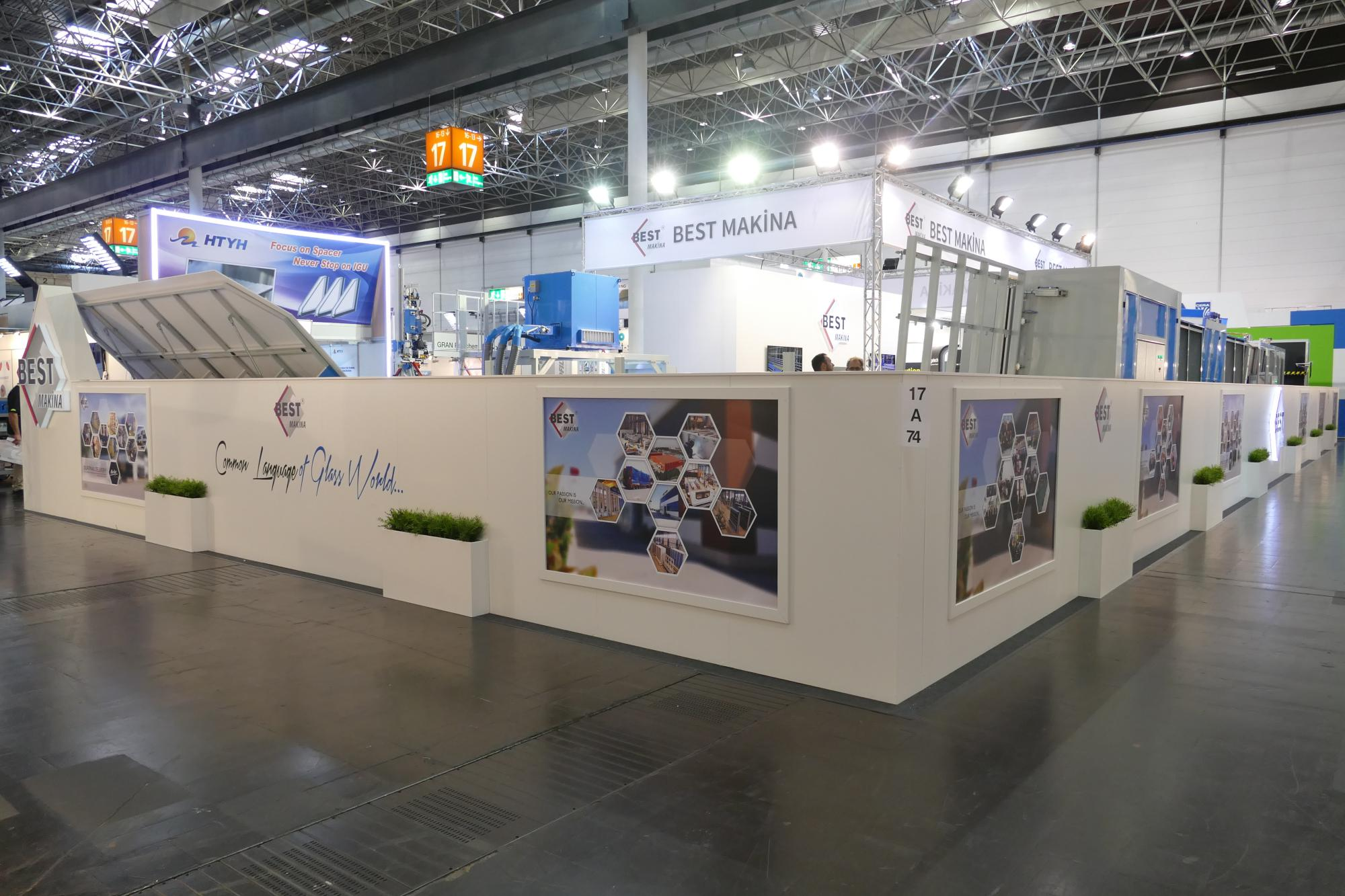Exhibition Booth In Spanish : Invitation to our stand in glasstec 2018 exhibition bestmakina.com