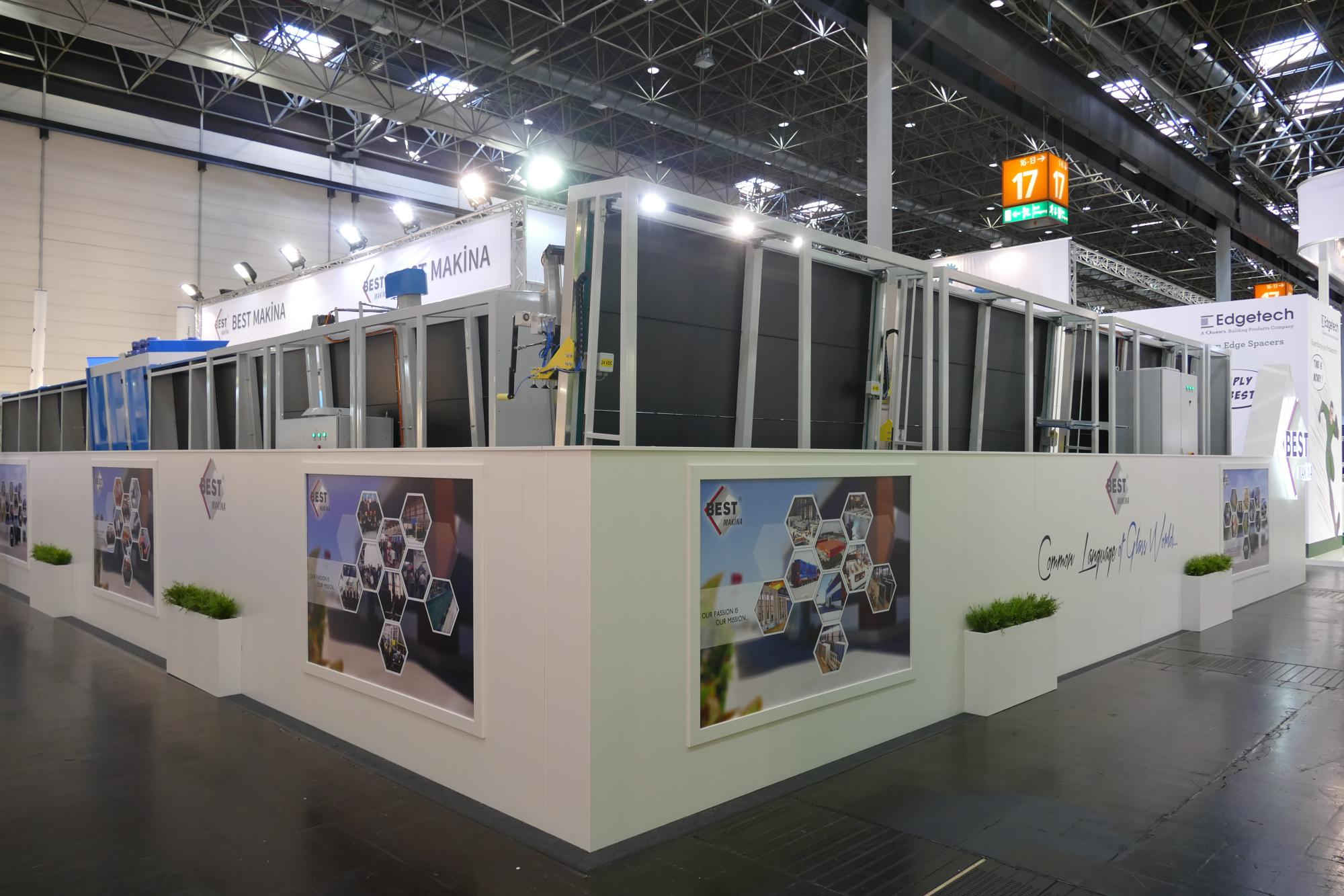 Exhibition Stall Xl : Invitation to our stand in glasstec 2018 exhibition bestmakina.com